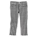 Olivia Checked Ponte Pants