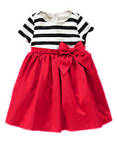 Olivia Striped Dress