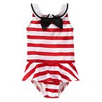 Olivia Striped One Piece