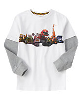 Dinotrux Long Sleeve Tee