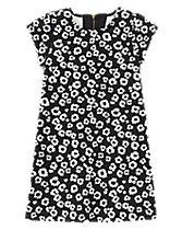 Leopard Print Ponte Dress