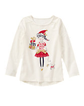 Santa's Jolly Elf Long Sleeve Tee