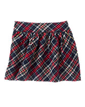Sparkle Plaid Skirt