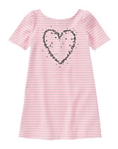 Sequin Heart Dress