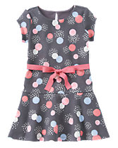 Sparkle Dot Ponte Dress