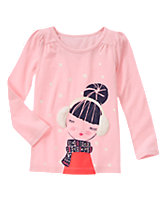 Bundled Girl Tee