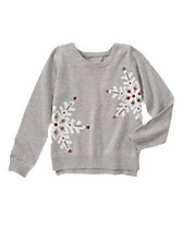 Sequin Snowflakes Sweater