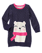 Polar Bear Sweater Dress