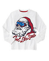 Cool Like Santa Long Sleeve Tee