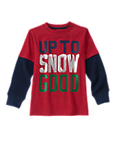 Up To Snow Good Long Sleeve Tee