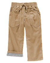 Lined Corduroy Pants