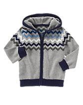 Chevron Sweater Hoodie