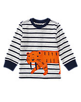 Striped Tiger Tee