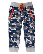 Camo Knit Pants