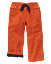 Fleece-Lined Active Pants