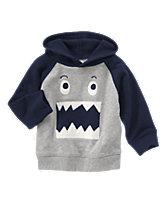 Monster Hooded Pullover