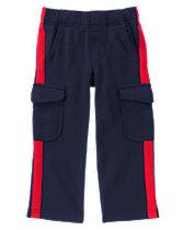 Terry Cargo Pants