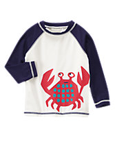Cute Crab Rash Guard