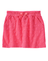 Textured Heart Skirt