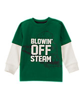 Blowin Off Steam Tee