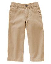 Classic Fit Twill Pants