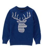 Fair Isle Reindeer Sweater