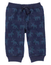 Moose Print Sweatpants