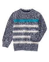 Striped Marled Sweater
