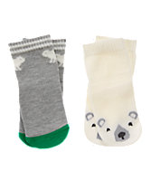 Polar Bear Socks 2-Pack