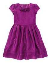 Duppioni Party Dress