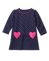 Polka Dot Heart Dress