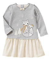 Cozy Foxes Dress