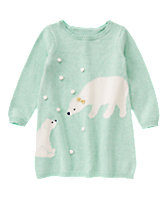Bear Pals Sweater Dress