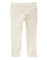 Animal Face Pocket Skinny Pants