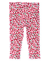 Holly Berry Print Leggings