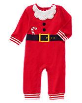 Santa Suit One-Piece