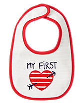 First Love Reversible Bib