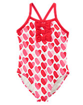 Hearts 1-Piece Swimsuit