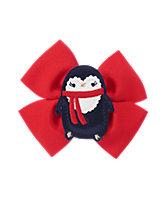 Penguin Bow Clip