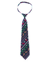 Holiday Print Tie