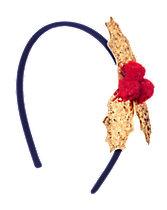 Glitter Holly Headband