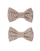 Sparkle Bow Clips 2-Pack