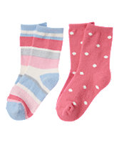 Dots & Stripes Socks 2-Pack