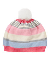 Multi-Striped Sweater Hat