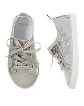 Glitter Wing Sneakers