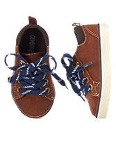 Microsuede Sneakers