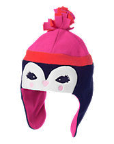 Fleece Penguin Hat