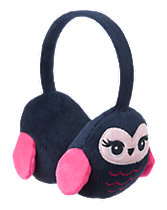 Plush Owl Ear Muffs