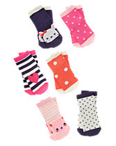 Patterned Socks 6-Pack