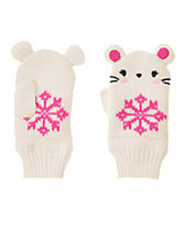 Mouse Sweater Mittens